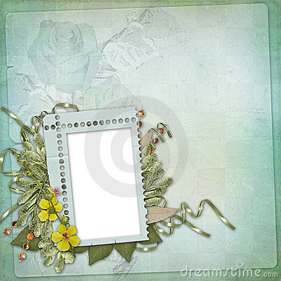 Abstract  floral background with bunch of flower
