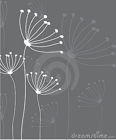 Abstract floral background.Vector card