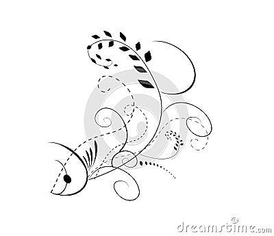 Abstract fish designs - photo#14