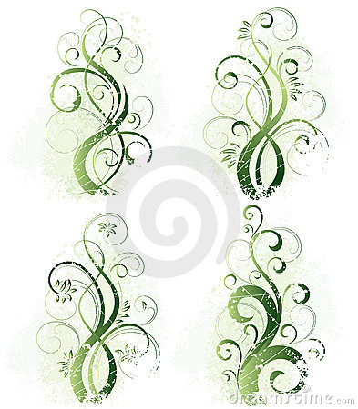 Free Abstract Floral Designs Stock Photography - 8797792