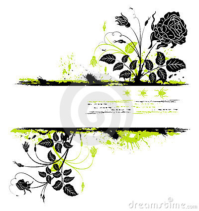 Free Abstract Floral Frame Royalty Free Stock Photos - 2286628