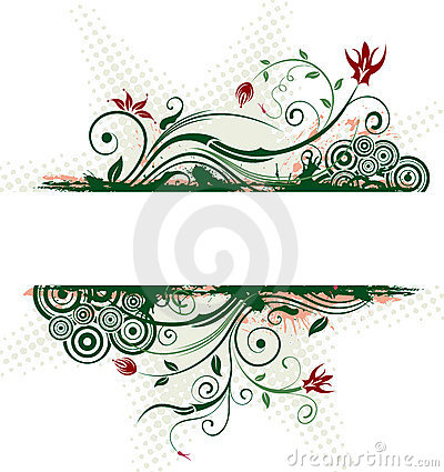 Free Abstract Floral Frame Stock Photos - 2397033