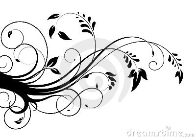 Abstract floral pattern 2