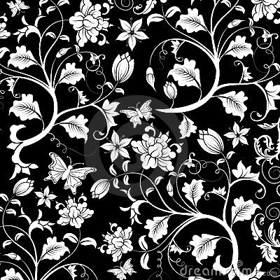 Free Abstract Floral Pattern, Vector Royalty Free Stock Image - 2033626