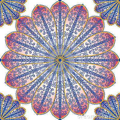 Floral tracery