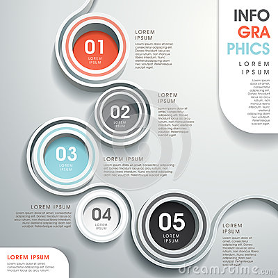 Free Abstract Flow Chart Infographics Royalty Free Stock Photography - 38688717