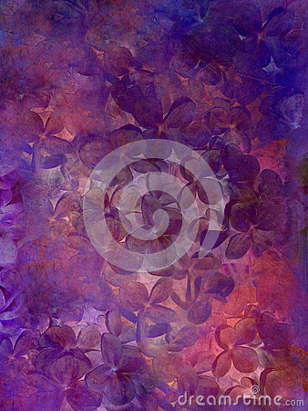 Free Abstract Flower Grunge Background. Stock Image - 95444861
