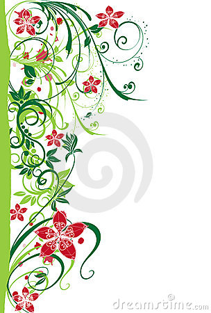 Free Abstract Flower Illustration Flower Spring Pink G Stock Photography - 17462282