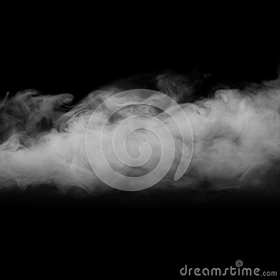 Abstract Blue Fog Smoke Clouds With Blinks and Flashes Background ...