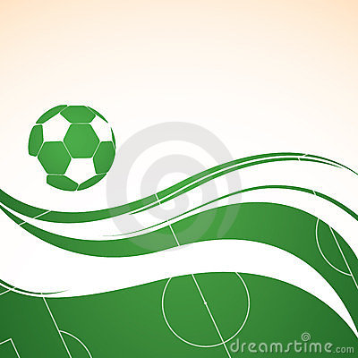 Abstract football background