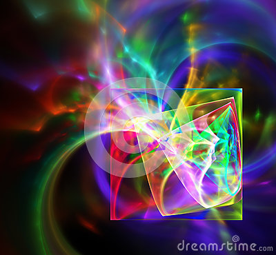 Free Abstract Fractal Design. Royalty Free Stock Photos - 56762788