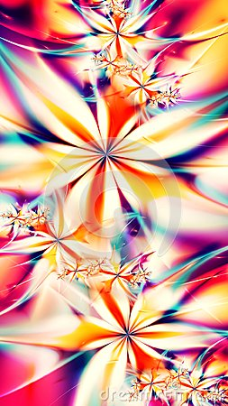 Free Abstract Fractal Flowers Background - 8K Resolution Stock Images - 103558764
