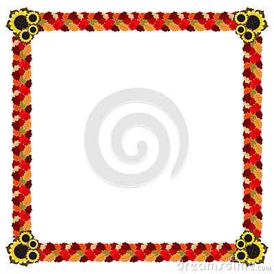 frame with abstract black line leaves and curve stock vector image 73105597