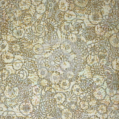 Abstract French floral design