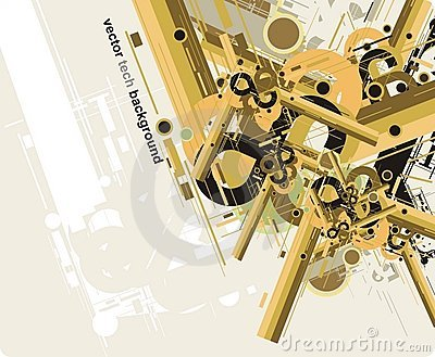 Abstract future tech background2
