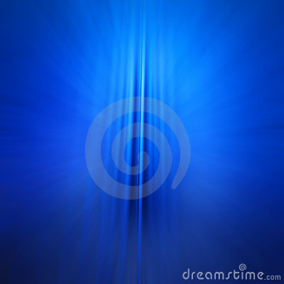 Abstract Futuristic 3D Blue Background