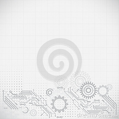 Free Abstract Futuristic Circuit Retro Technology Background,  Stock Images - 37539064