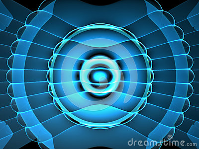 Abstract futuristic neon light background