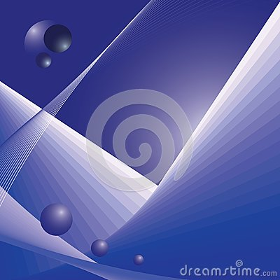 Abstract futuristic space illustration