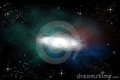 Abstract galaxy