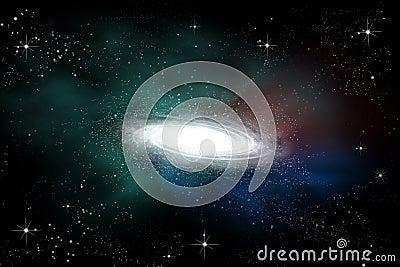 Abstract galaxy