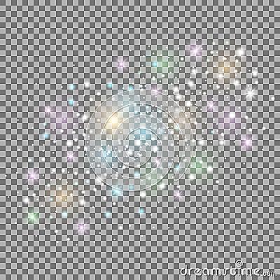 Abstract galaxy Vector Illustration
