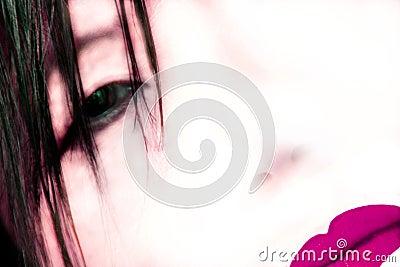 Abstract geisha