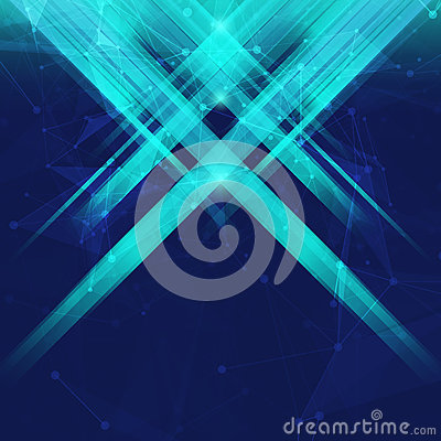 Free Abstract Geometric Bacground With Rays Stock Photo - 58144390