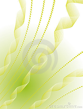 Abstract geometric background of green
