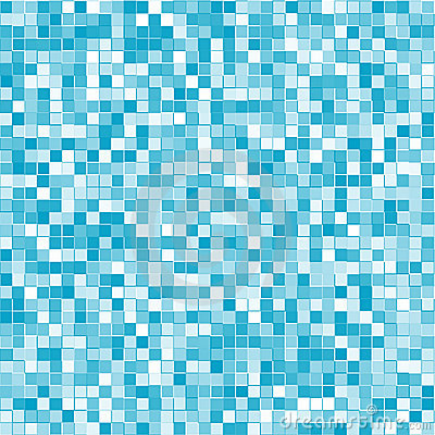 Abstract geometric blue squares background