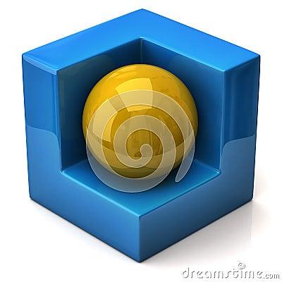 Abstract geometric figure