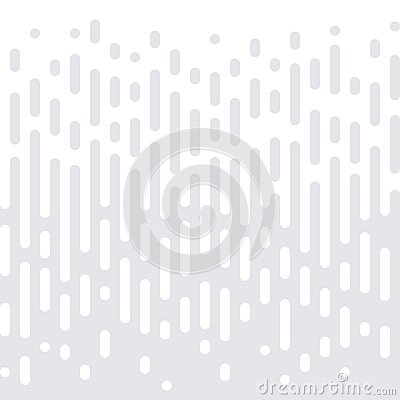 Abstract geometric halftone seamless pattern vector white minimal gradient texture background Vector Illustration