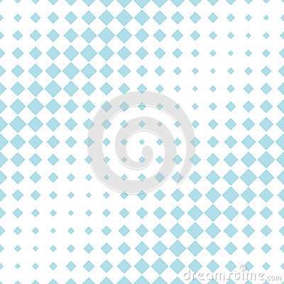 Abstract geometric hipster fashion halftone blue square pattern Vector Illustration