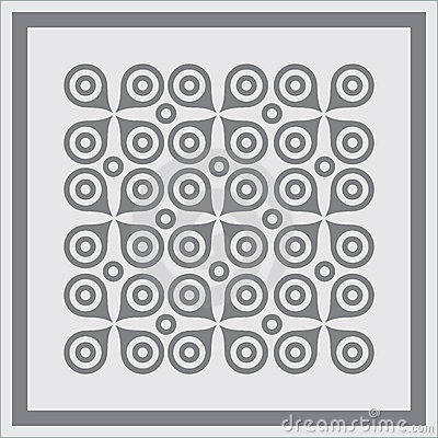 Abstract geometric pattern background.