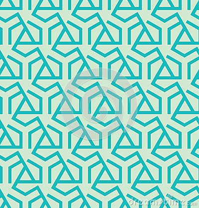 Free Abstract Geometric Pattern Made Of Triangles And Hexagons - Vector Eps8 Royalty Free Stock Images - 100687009