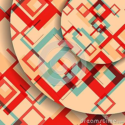 Abstract geometric shape illustration