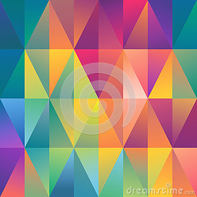 Abstract geometric spectrum pattern background