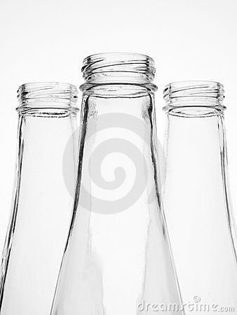 Abstract Glassware Background Design