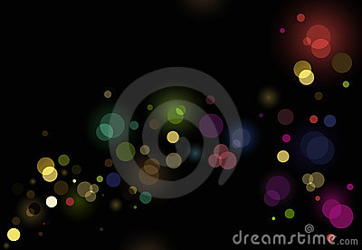 Abstract glittering lights background