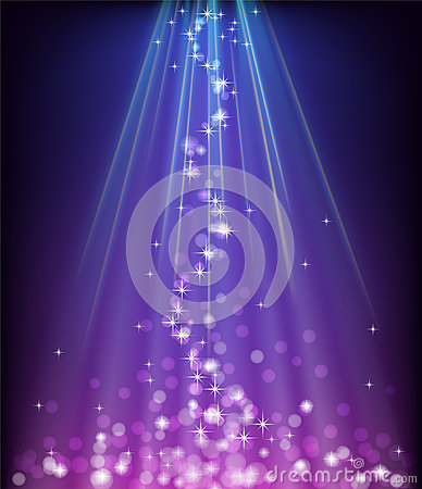Free Abstract Glowing Blue Purple Background Stock Photography - 28212562