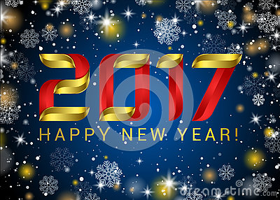 abstract glowing golden blur snow background for text type quote happy new year 2017 gold glitter new year background royalty free stock image