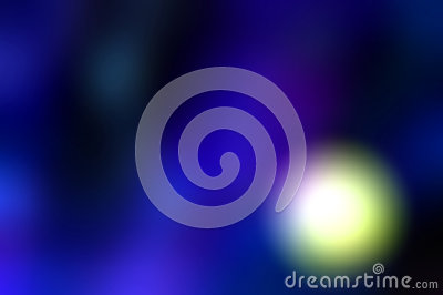 Abstract glowing light in purple background