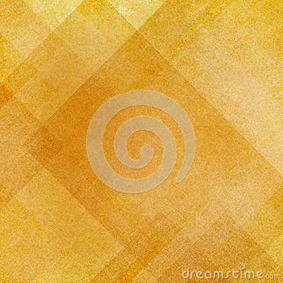 Abstract gold background squares rectangles and triangles in geometric pattern design Stock Photo