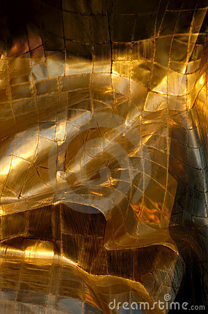 Free Abstract Gold Metal Background Royalty Free Stock Photography - 990357