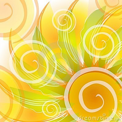 Free Abstract Gold Swirls Backdrop Royalty Free Stock Photo - 2887265