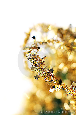 Abstract golden holiday