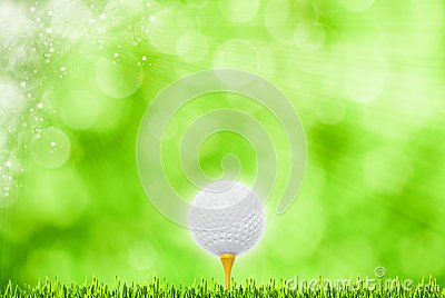 Abstract golf sport art backgrounds