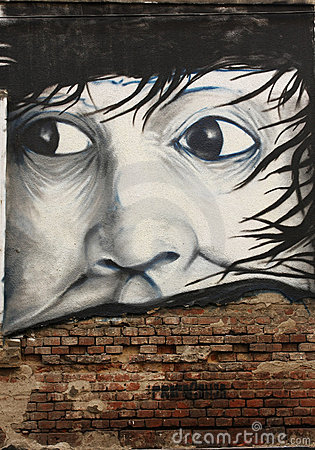 Abstract graffiti Editorial Photography