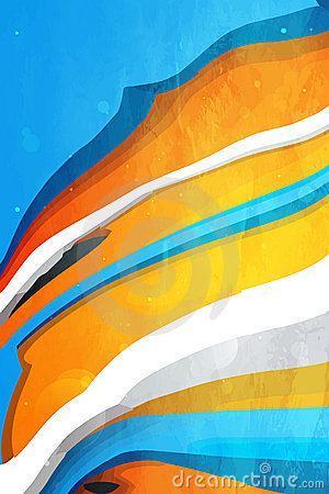 Abstract  graphic, bright background