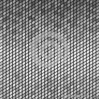 Abstract gray mosaic tiles background